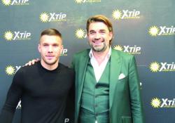 Il campione di Calcio Lukas Podolski ambasciatore delle scommesse