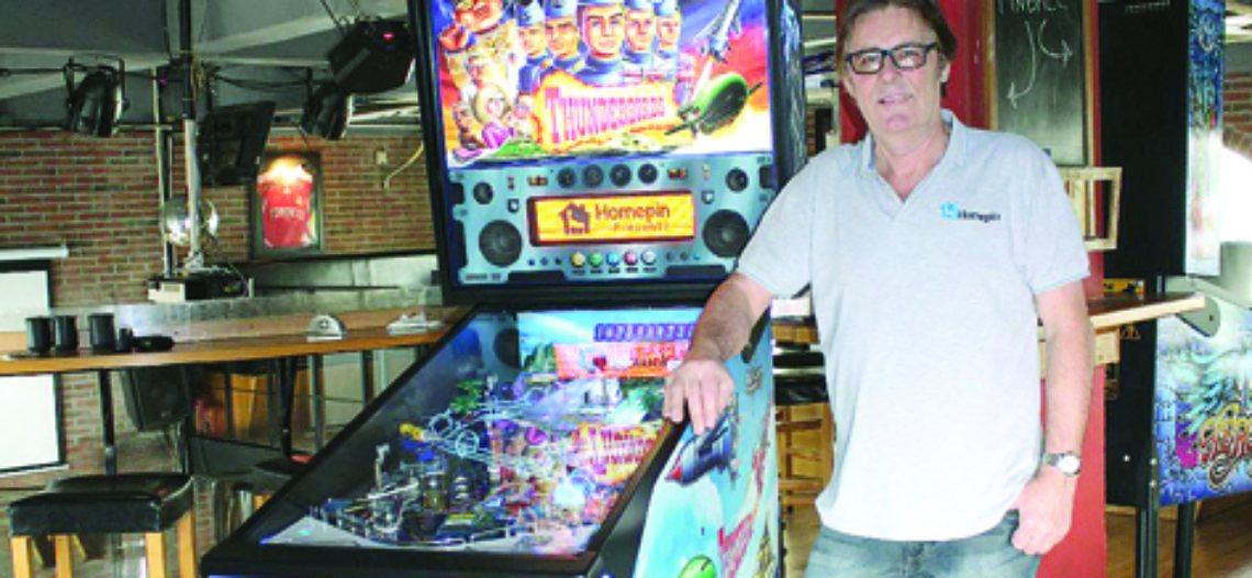 La Homepin distribuirà il tavolo Thunderbirds Pinball di Highway games
