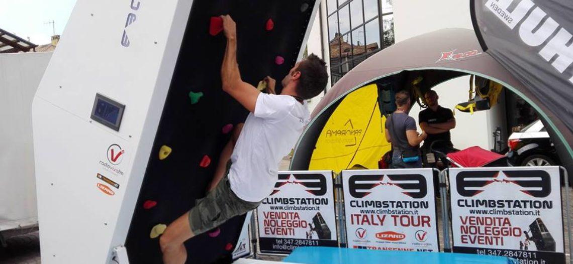 Riparte il CLIMBSTATION ITALY TOUR per fare conoscere come arrampicarsi