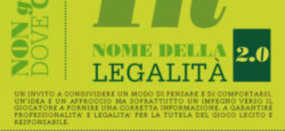 In nome della Legalità 2.0