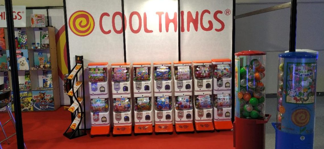 COOL THING padiglione C3 stand 017 a Rimini Amusement Show