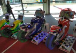 Special Game srl con le sue moto a Rimini Amusement Show