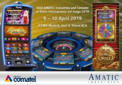 Anche Amatic  Industries nella fiera madrilena