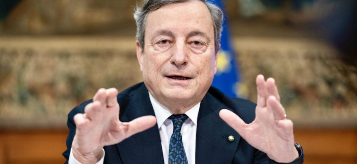 Sulle riaperture il Pres. Draghi accelera frenando