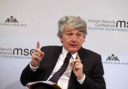 Il Commissario UE Thierry Breton risponde agli operatori dell'Amusement